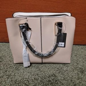 Brandnew Cream Satchel with tag